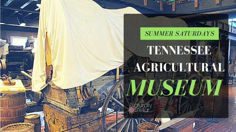 Tennessee Agricultural Museum - Summer Saturdays | Naturally Stellar