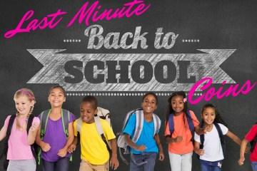 Last Minute Back To School Savings | Naturally Stellar