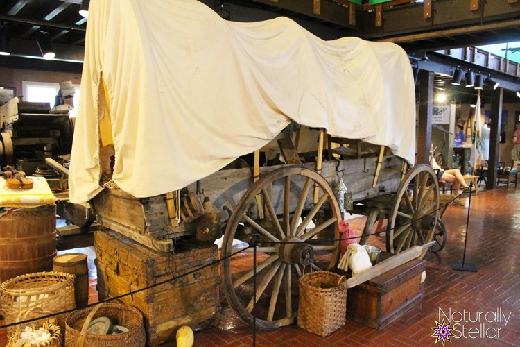 Covered Wagon | Tennessee Agricultural Museum - Summer Saturdays | Naturally Stellar
