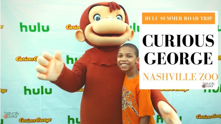Curious George | Hulu Summer Road Trip - Nashville, TN | Naturally Stellar