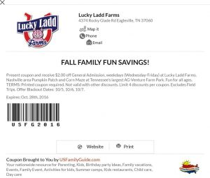 Lucky Ladd Farms Corn Maze Coupon | Naturally Stellar