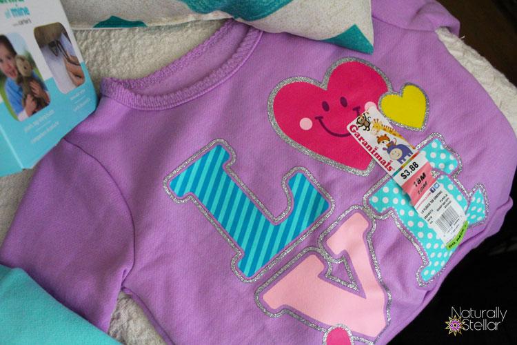 Walmart Baby Garanimals Baby Girls fleece Clothes | Naturally Stellar