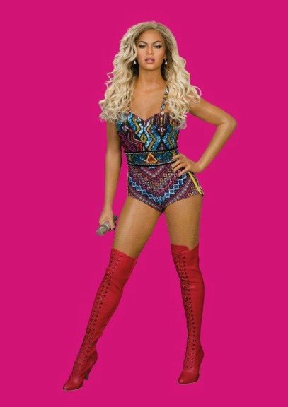 Madame Tussaud's Beyonce Wax Figure | Naturally Stellar