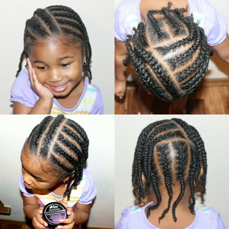 Natural Hair Kids Simple Protective Styles For Winter