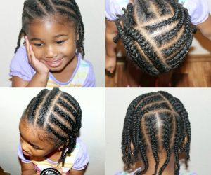 natural hair kids cornrows | Naturally Stellar