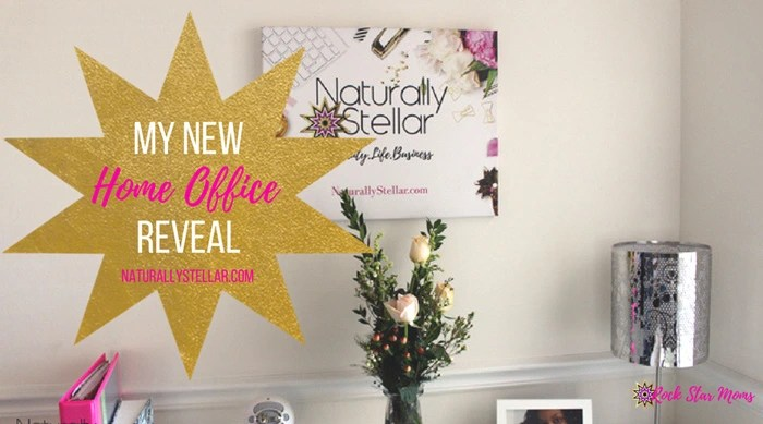 New Home Office Reveal | Naturally Stellar