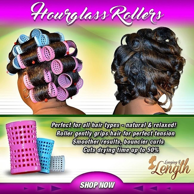 Her Business   Longing 4 Length Hourglass Rollers   Naturally Stellar
