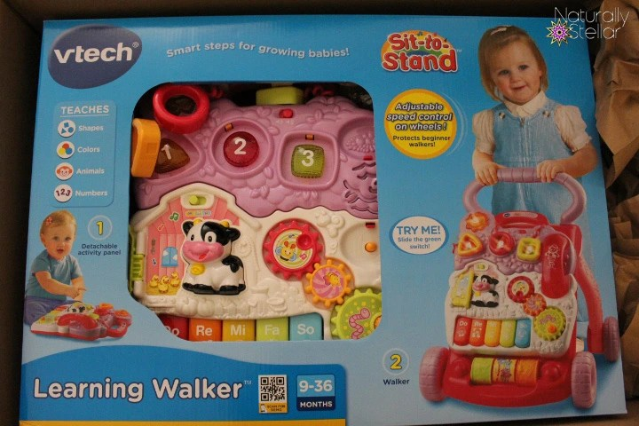 VTECH Sit To Stand Walker Review | Naturally Stellar
