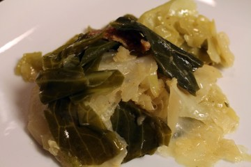 Delicious Butter Steamed Cabbage | Naturally Stellar