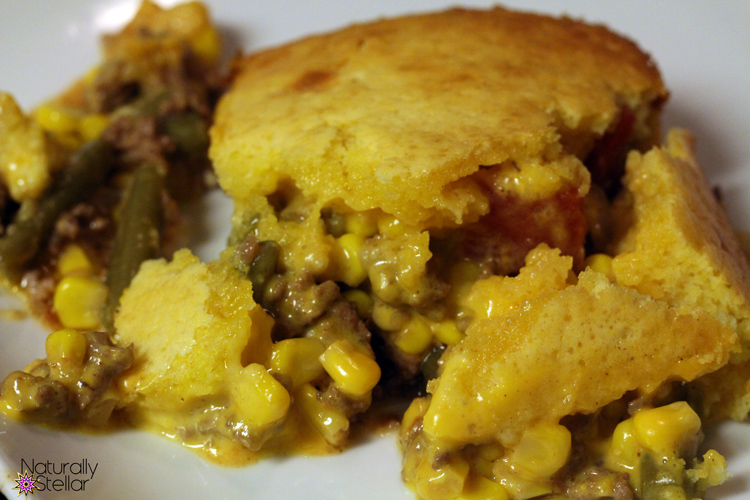 Real People Meals: Cheesy Cornbread Casserole