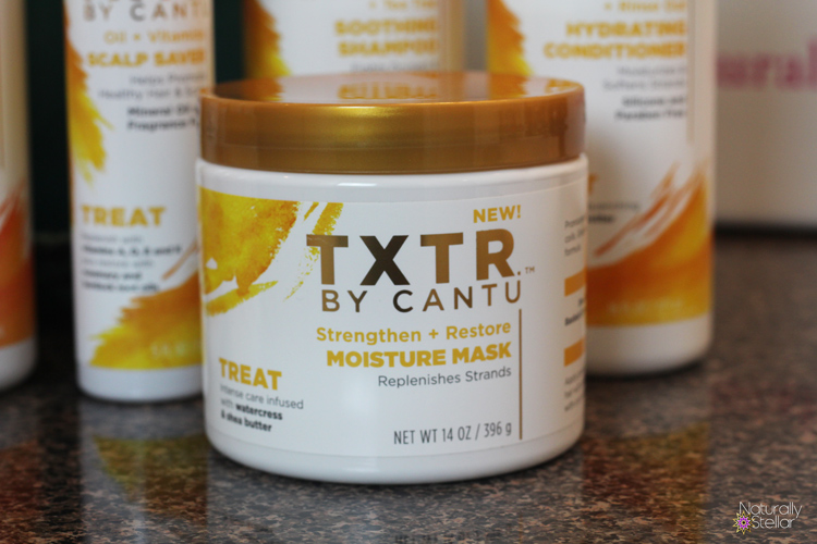 Cantu Sleek and Treat TXTR Line | Naturally Stellar