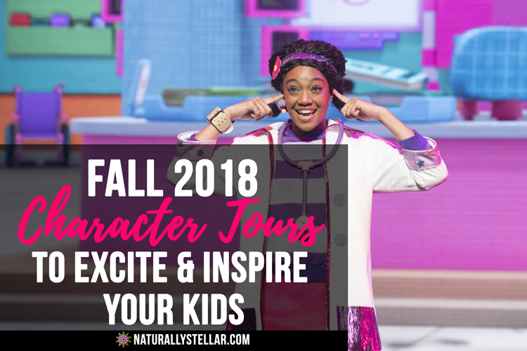 Fall 2018 Character Tours To Excite and Inspire Your Kids | Naturally Stellar