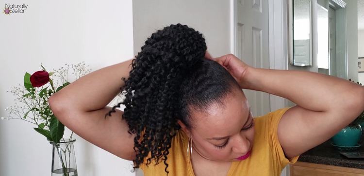Simple Protective Styling: Ponytail Hair Pieces | Naturally Stellar
