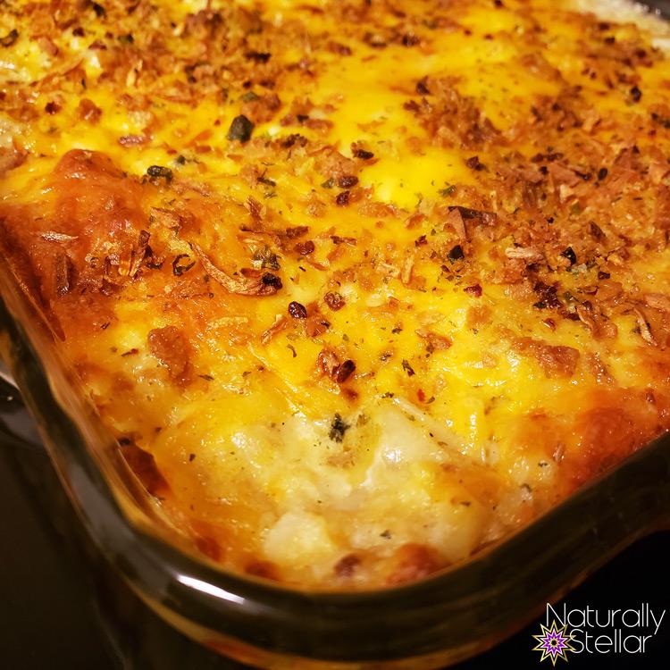 Loaded Baked Potato Casserole Recipe | Naturally Stellar