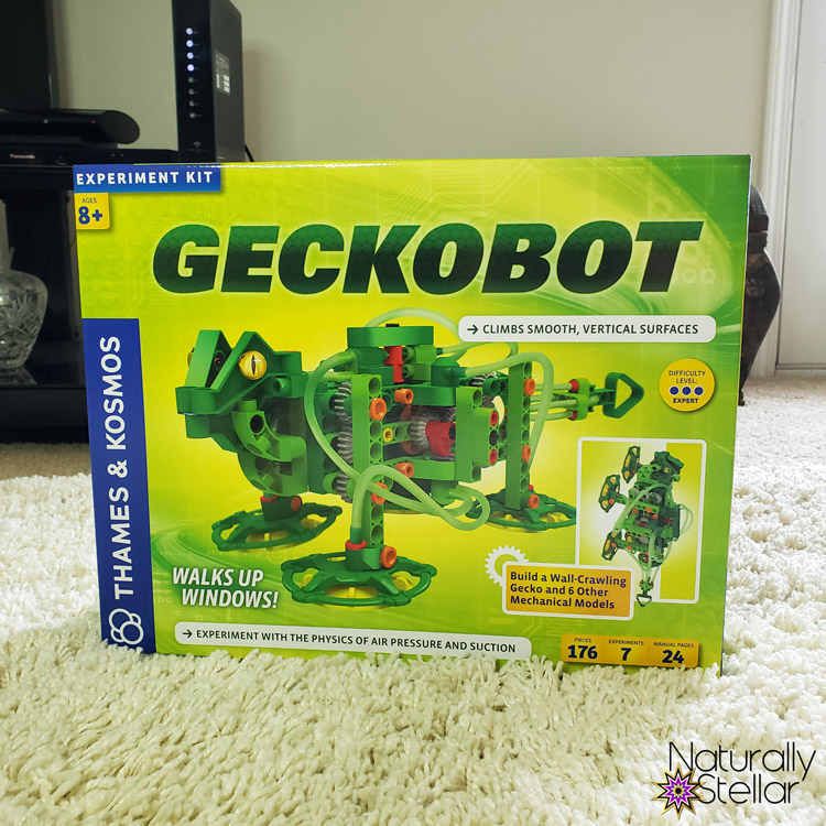 STEM and STEAM activities to keep kids busy. Geckobot Stem Toy   Naturally Stellar
