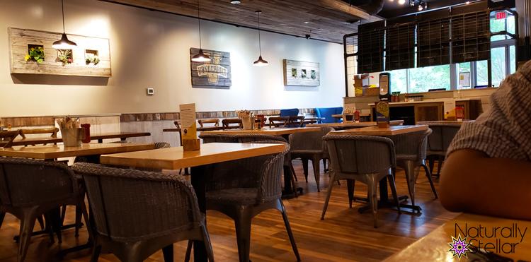Inside Sun and Fork Restaurant Nashville | Naturally Stellar