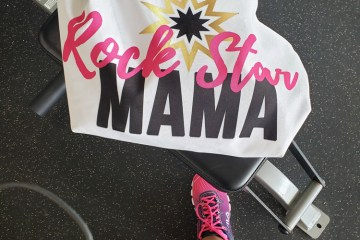 Rock Star Mama Workout Tote Bag | Naturally Stellar
