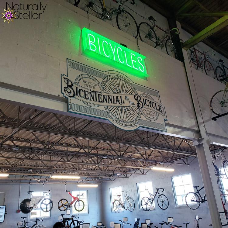Bicycle room in Lane Motor Museum   Naturally Stellar