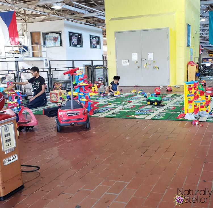 Kids Play Area Lane Motor Museum   Naturally Stellar