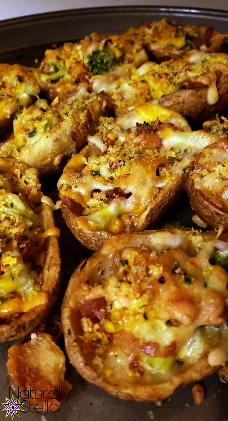 Loaded Potato Skins | Naturally Stellar