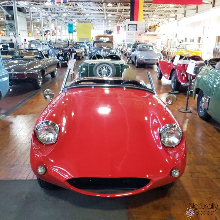 Red Vintage Austin-Healey Sprite   Naturally Stellar