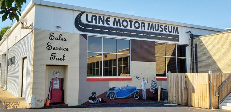 Lane Motor Museum Building Art | Naturally Stellar