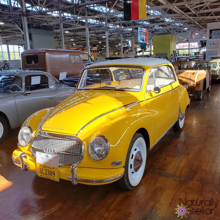 Yellow 1958 Auto Union 1000   Naturally Stellar