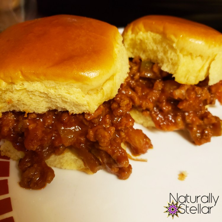 Sloppy joe sliders are so quick and easy to make