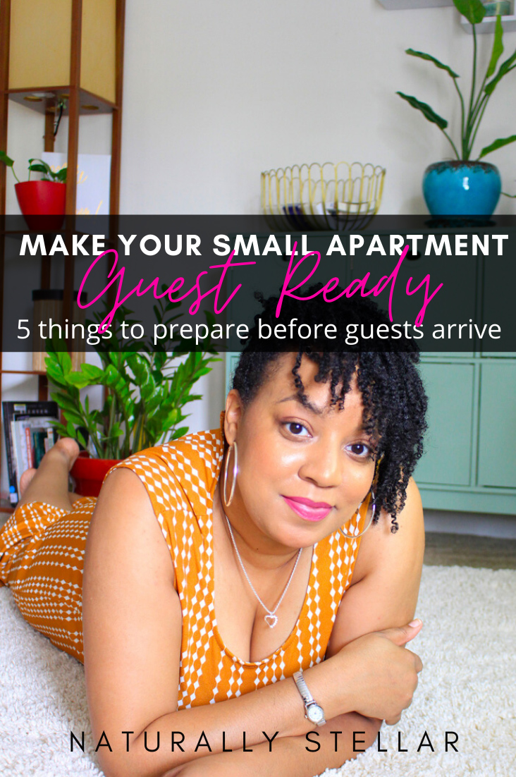 5 ways to get your small space apartment ready for guests