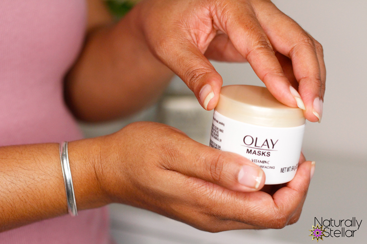 Olay Vitamin C Resurfacing Mask. Naturally Stellar Lifestyle and Beauty Blog