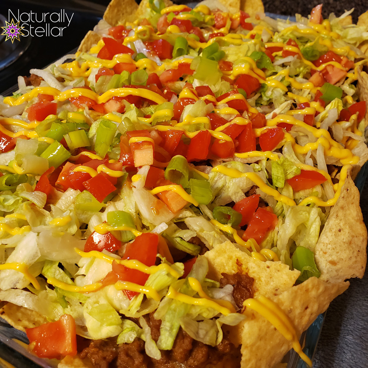 Meal ideas | Loaded Nachos instead of Taco Tuesday - Naturally Stellar
