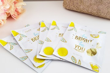 FaceTory Be Bright Be You 5 Pack Gold Foil Mask | Naturally Stellar