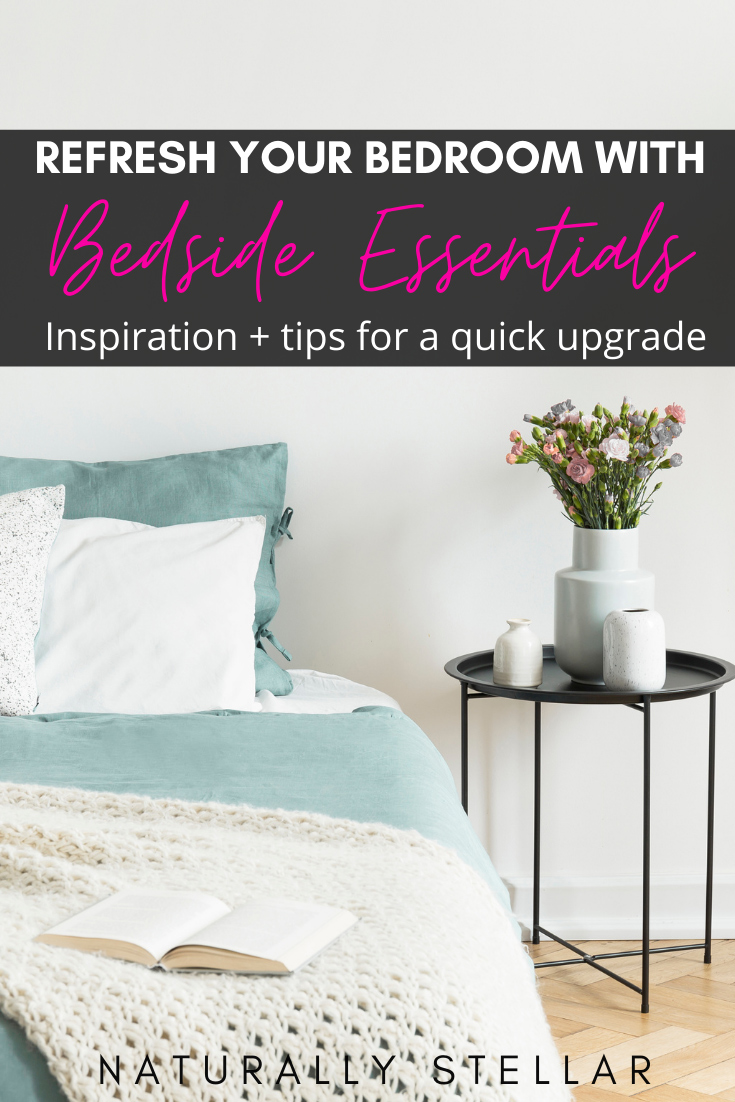 A Bedroom Refresh With Bedside Essentials From Wayfair