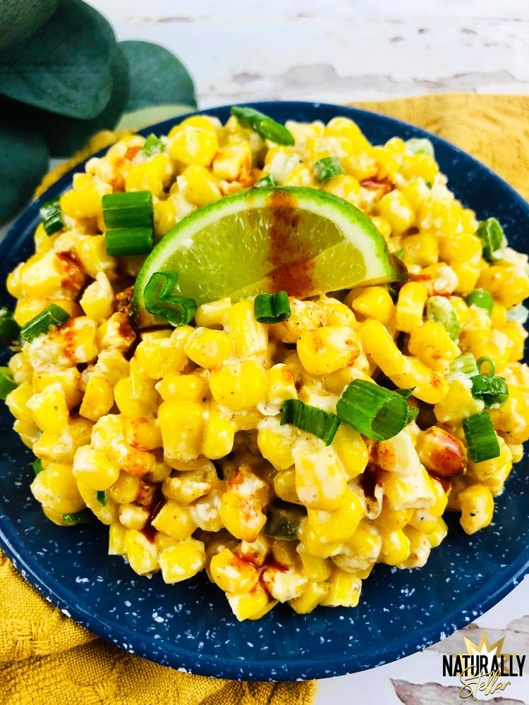 Easy and delicious street corn bake recipe | Naturally Stellar