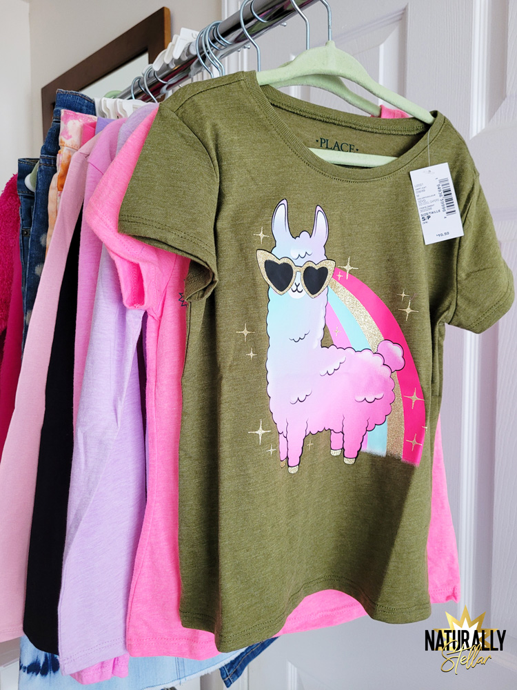 Where I found the best deals for back to school clothes. For Basics - Children's Place   Naturally Stellar