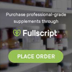 Fullscript nutritional supplement order button