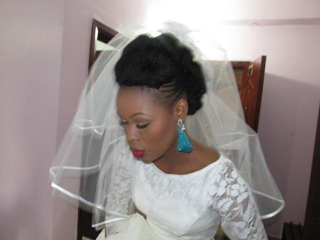 A Natural Nigerian Bride Tosin El Zakir Natural Nigerian