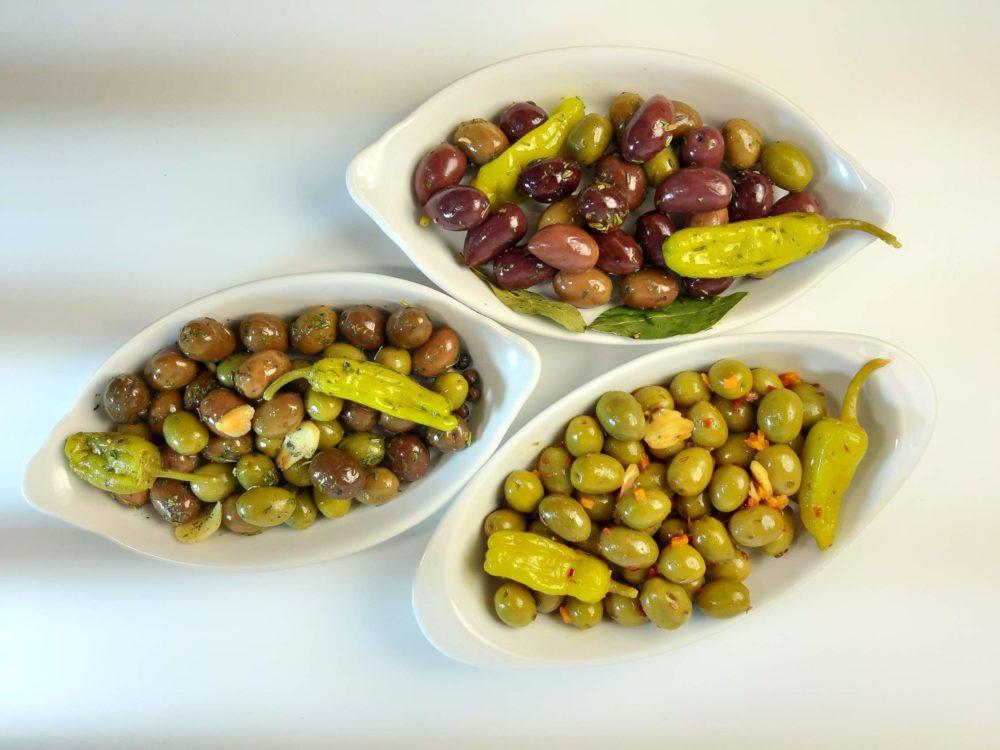 оливки вкусные в маринаде