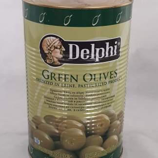 DELFI Атлас 71/90 зелені оливки с кост. 4,25л,сух.вес 2,5кг 51141
