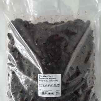 Фрумбес Тасу Вялені на дереві маслини з кісточкою суха в 2кг Вакуум. Пакет Розмір Jumbo 181-200 70544
