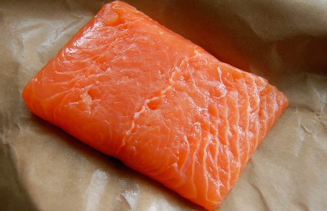 farmed salmon