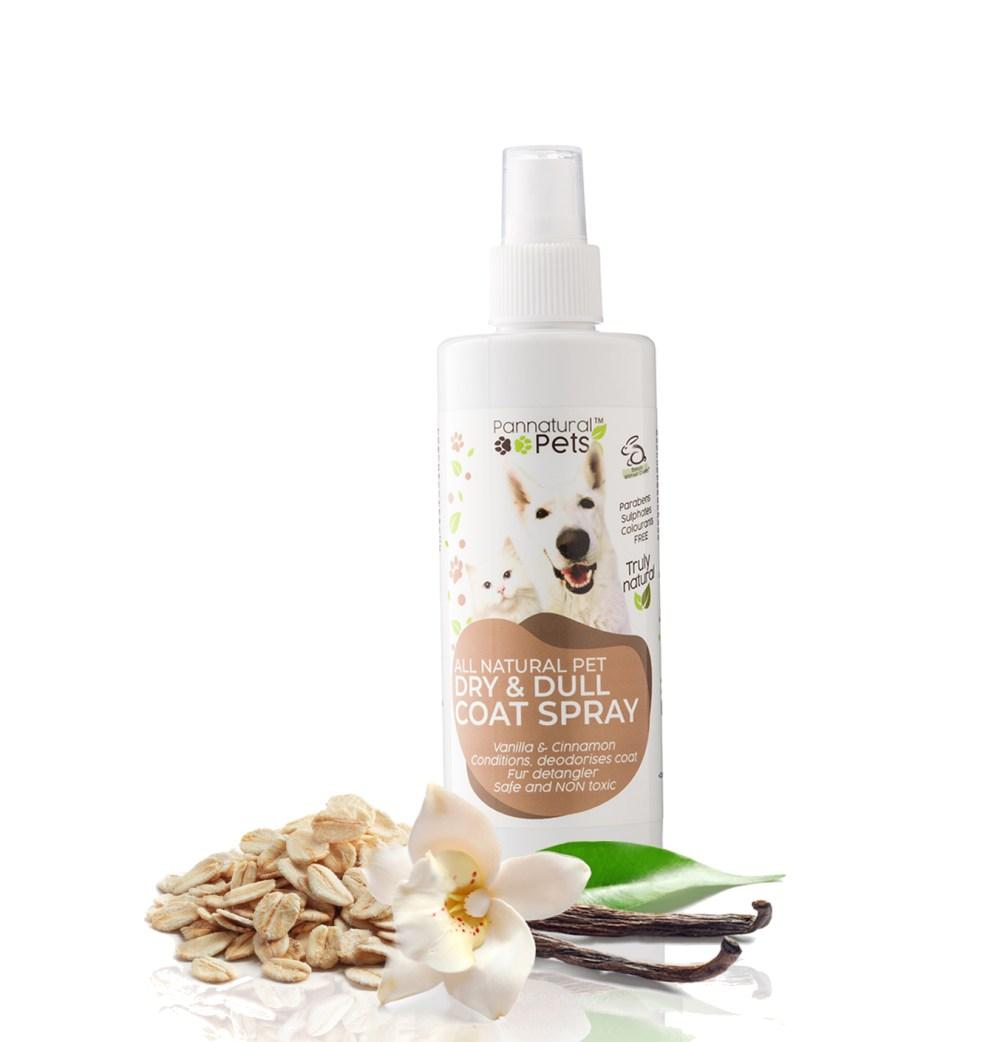Pannatural Pets All Natural Detangler Dry skin spray