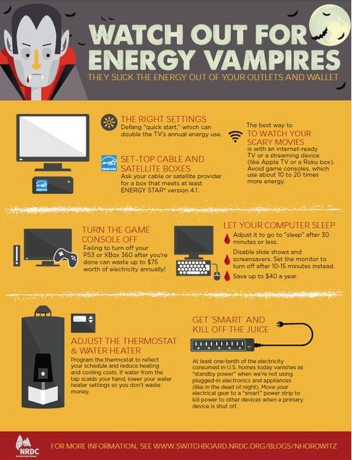 watch out for energy vampires