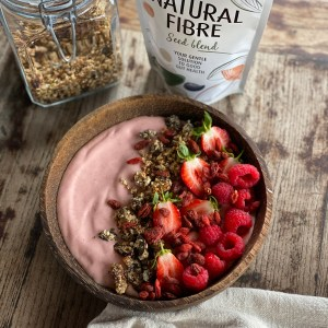Natural Fibre Smoothie Bowl with Seed'Nola