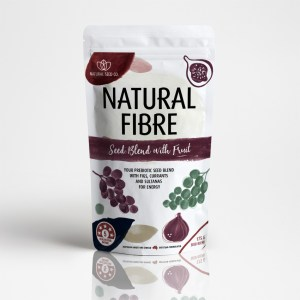 Natural Fibre Seed Blend with Fruit
