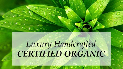 Luxury Handcrafted Certified Organic