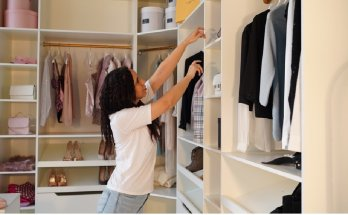 Getting a closet organized