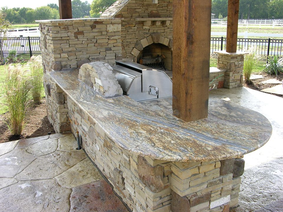 Quartz Countertops for Outdoor Kitchens - Natural Stone Designs