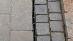 Channel Drain And Brick Slot Drain For Water Drainage
