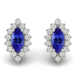 Marquise Tanzanite Earring
